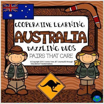 Cooperative Learning Dazzling Duos Pairs that Care Australia Themed