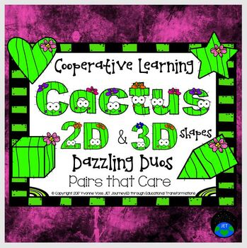 Cooperative Learning Dazzling Duos Pairs that Care Cactus