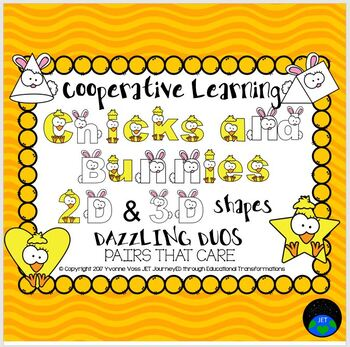 Cooperative Learning Dazzling Duos Pairs that Care Chicks and Bunnies Shapes
