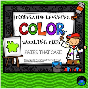 Cooperative Learning Dazzling Duos Pairs that Care Color Themed