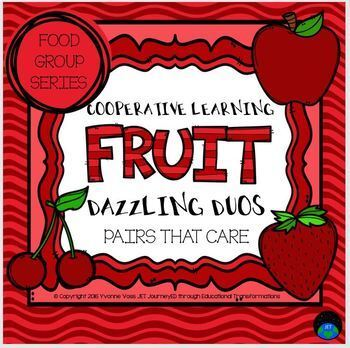 Cooperative Learning Dazzling Duos Pairs that Care Fruit