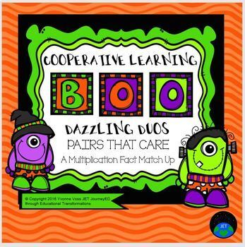 Cooperative Learning Dazzling Duos Pairs that Care Hallowe