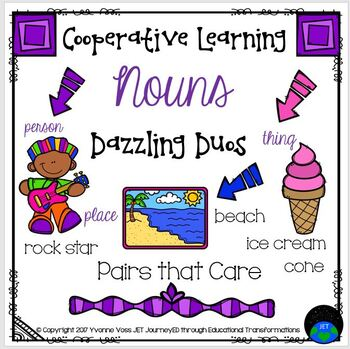 Cooperative Learning Dazzling Duos Pairs that Care Nouns