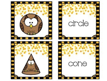 Cooperative Learning Dazzling Duos Pairs that Care Owls 2D & 3D Shapes