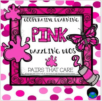 Cooperative Learning Dazzling Duos Pairs that Care Pink Themed
