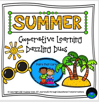 Cooperative Learning Dazzling Duos Pairs that Care Summer