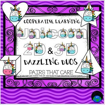 Cooperative Learning Dazzling Duos Pairs that Care Unicorns