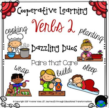 Cooperative Learning Dazzling Duos Pairs that Care Verbs 2