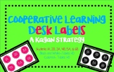 Cooperative Learning Desk Labels- A Kagan Strategy