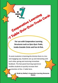 Quiz Quiz Trade Division By 7 Cards