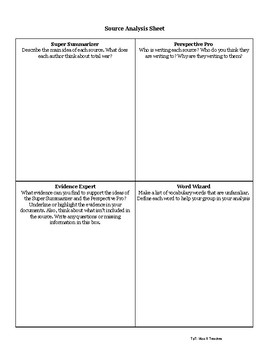 Cooperative Learning Document Analysis