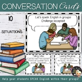 Cooperative Learning - EFL Conversation Cards