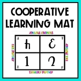 Cooperative Learning Group Table Mat