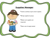 Cooperative Learning Job Cards (EDITABLE)