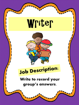 Cooperative Learning - Group Work Student Job Descriptions