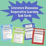 Cooperative Learning Discussion Cards for Lit Circles and