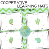 Cooperative Learning Mats Cactus Theme