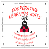 Cooperative Learning Mats LADYBUG Theme