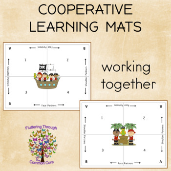 Cooperative Learning  Mats PIRATE Theme