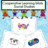Cooperative Learning Mats Social Studies Theme