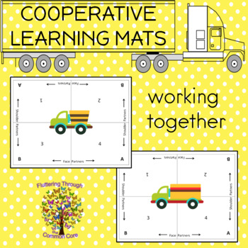 Cooperative Learning Mats TRUCK Theme