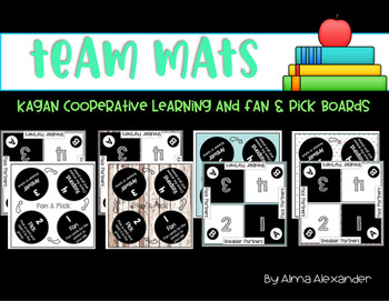 Cooperative Learning Mats and Fan & Pick Mats