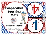 Cooperative Learning Mats - baseball theme