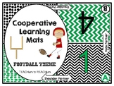 Cooperative Learning Mats - football theme