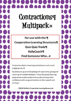 Cooperative Learning Multi-Structure Bundle: Contractions
