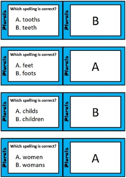 Cooperative Learning Multi-Structure Bundle: Irregular Plurals