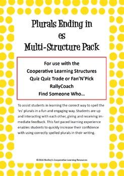 Cooperative Learning Multi-Structure Bundle: 'es' Plurals