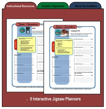 Cooperative Learning Packet