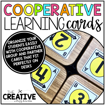 Cooperative Learning Partner Cards