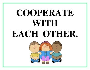 Cooperation vs. Competition Posters