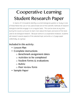 Cooperative Learning Research Paper