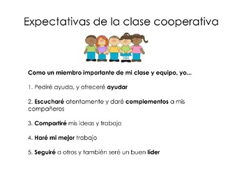 Cooperative Learning Resources (SPANISH)