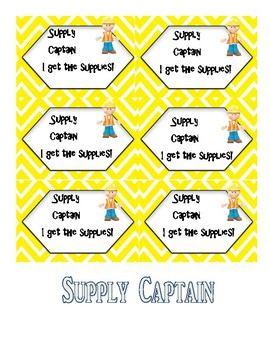 Cooperative Learning:  Roles and Responsibility Cards