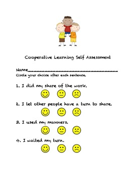Cooperative Learning Self Assessment