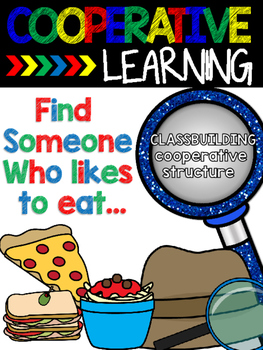 Cooperative Learning Structure Find Someone Who... likes t