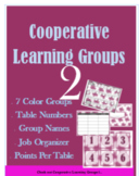 Cooperative Learning, Table Groups, Positive Points, Jobs