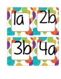 Cooperative Learning Table Labels