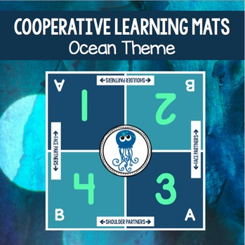 Cooperative Learning Table Mat: Ocean Theme