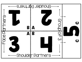 Cooperative Learning Table Mats- UPDATED!