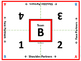 Cooperative Learning Table Mats (Color Team Letters)