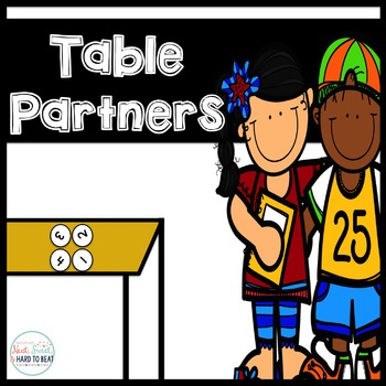 Cooperative Learning: Table Partner Team Tags