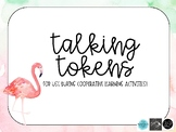 Cooperative Learning Talking Tokens