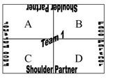 Cooperative Learning Team Signs