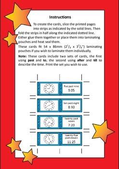 Quiz Quiz Trade Telling Time To Quarter Hour Cards