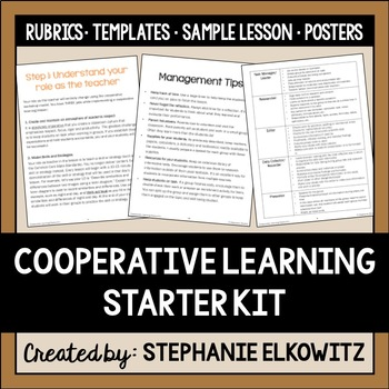 Cooperative Learning Lessons Starter Kit
