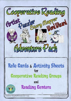 Cooperative Reading Center Role Cards and Activity Sheets
